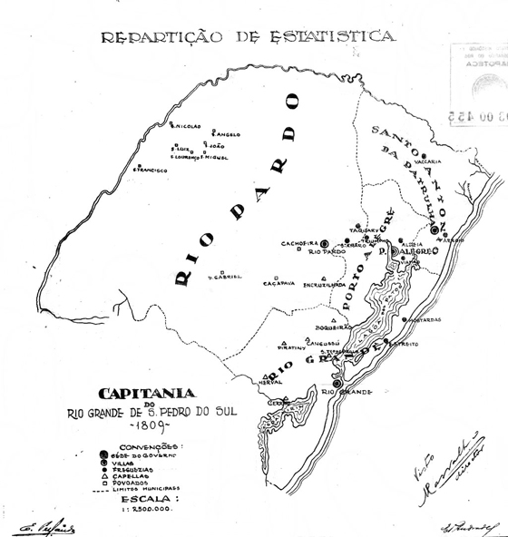 Capitania do Rio Grande 1809 T