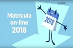 Matrícula on-line 2018